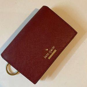 Kate Spade small key ring card holder wallet